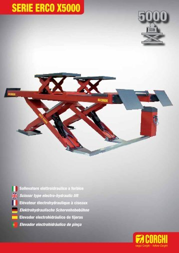 SERIE ERCO X5000 - Corghi SpA