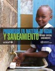 Progresos en materia de agua y saneamiento