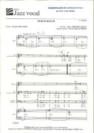 2 Jazz vocal - Sympaphonie