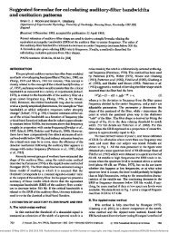 Suggested Formulae for Calculating Auditory-filter Bandwidths and ...
