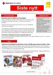 Siste nytt fra Røde Kors Førstehjelp