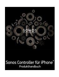 Sonos Controller für iPhone - Almando
