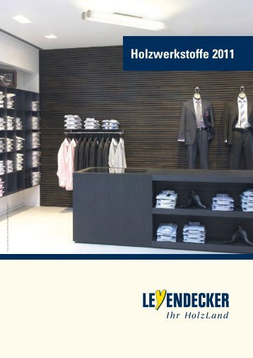 Holzwerkstoffe 2011 - Leyendecker