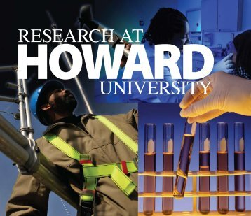 RESEARCH AT UNIVERSITY - Howard University