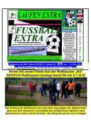 SSV/FCA Rotthausen besiegt Horst 08 mit 2:1 - Gelsenkirchen ...