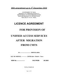 UASL License Agreement with Amendment up to 3rd ... - Auspi.in