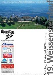 19. W eissensteinlauf - Jura-Top-Tour