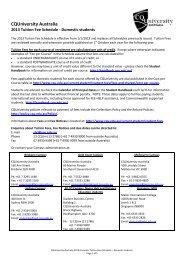 CQUniversity Australia - Central Queensland University