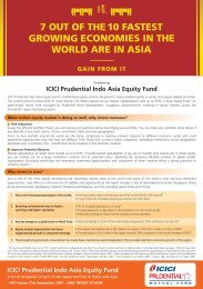 ICICI Prudential Indo Asia Equity Fund ICICI ... - Rrfinance.com