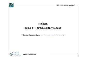 Tema 1 – Introducción y repaso