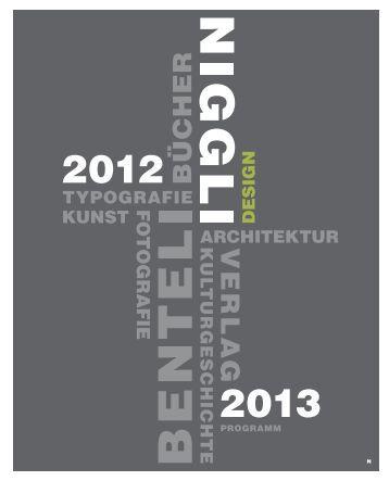 Design - Niggli Verlag
