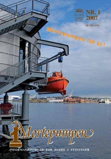 Mortepumpen nr. 1 2007 - Stavanger kommune