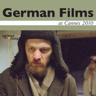at Cannes 2010 - German Film