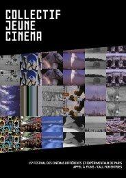 Télécharger l'appel à projets au format pdf - Collectif Jeune Cinéma