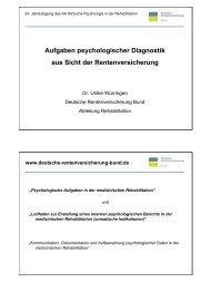 Aufgaben psychologischer Diagnostik aus Sicht der ...