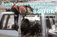 Equipment Considerations - Technical Rescue Magazine