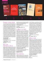 livres 341.pdf - ECA - Enseignement catholique actualites