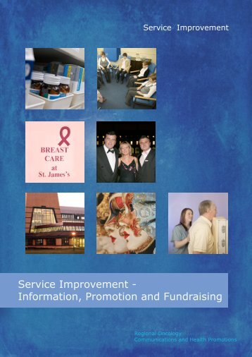 Service Improvement - Information, Promotion and Fundraising (PDF ...