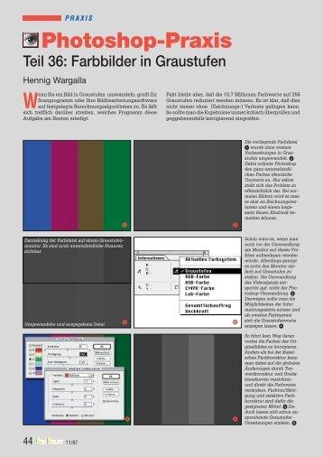98 Farbbilder in Graustufen - Hennig Wargalla