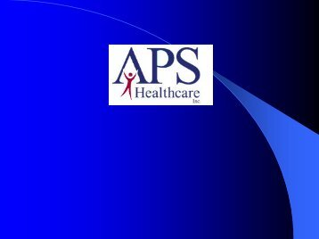 APS Presentation on SBMH