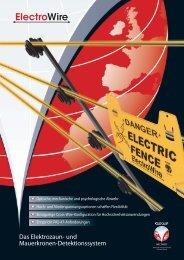 Electrowire Produktbroschüre (pdf) - Geoquip
