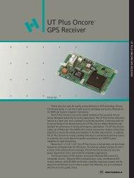 UT Plus Oncore™ GPS Receiver