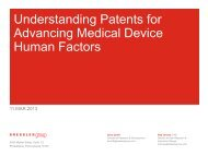 Understanding Patents to Advance Medical
