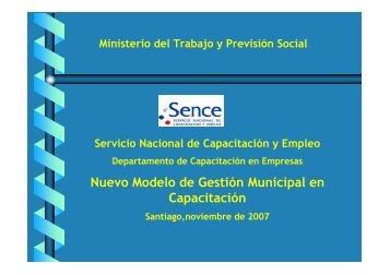 Nuevo Modelo de Gestión Municipal en Capacitación - Asociación ...