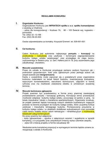 Regulamin konkursu w pliku .pdf - WA.pl