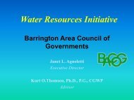 Water Resources Initiative