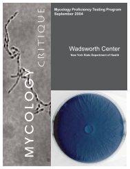 September 2004 - Wadsworth Center