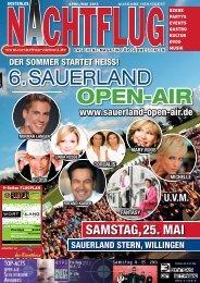 6. SAUERLAND OPEN-AIR - Nachtflug-Magazin