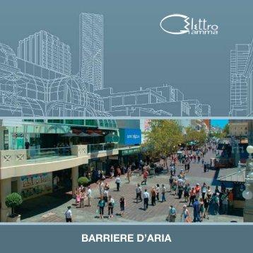 BARRIERE D'ARIA - Elettrogamma