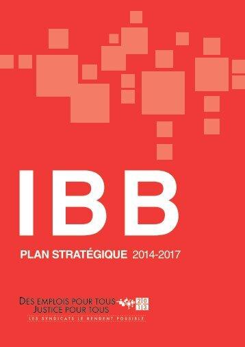 PLAN STRATÉGIQUE 2014-2017 - BWI 2013 World Congress