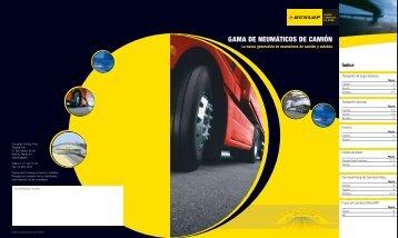 Folleto de gama Dunlop - Fleet first