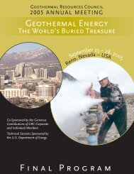 Geothermal Resources Council Annual Meeting - ATLAS ...