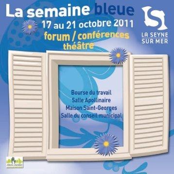 Télécharger le programme - La Seyne-sur-Mer