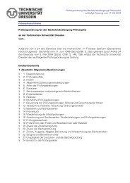 Prüfungsordnung für den Bachelorstudiengang Philosophie an der ...