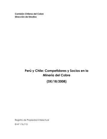 Perú y Chile: Competidores y Socios en la Minería del Cobre (DE/18 ...