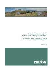 landskabskarakterkortlægning af langeland og ærø - Nationalpark ...