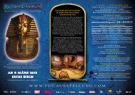 AB 9. MÄRZ 2013 - Tutanchamun