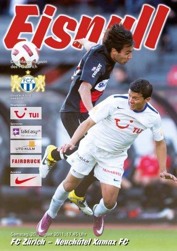 Nr. 4 11/12 (Xamax) - FC Zürich