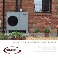 GUIDE TO AIR SOURCE HEAT PUMPS - Grant UK