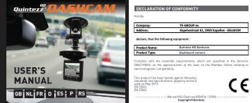HD Dashcam manual GB - Quintezz