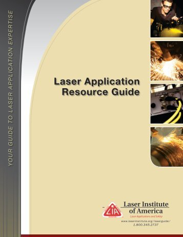 LARG Fall 08.qxp - Laser Institute of America