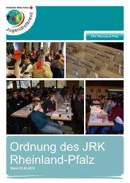 Die Ordnung - Jugendrotkreuz Rheinland-Pfalz