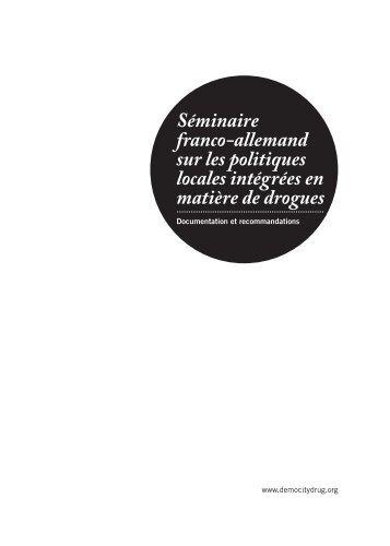 Séminaire franco-allemand sur les politiques locales intégrées en ...