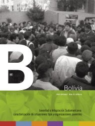 Informe nacional de Bolivia - Ibase