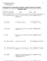 informe_auditorias_2009 - I. Municipalidad de Cerrillos