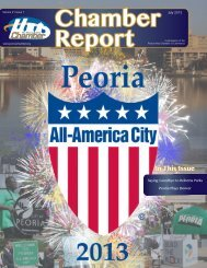 In This Issue - Peoria Area Chamber of Commerce